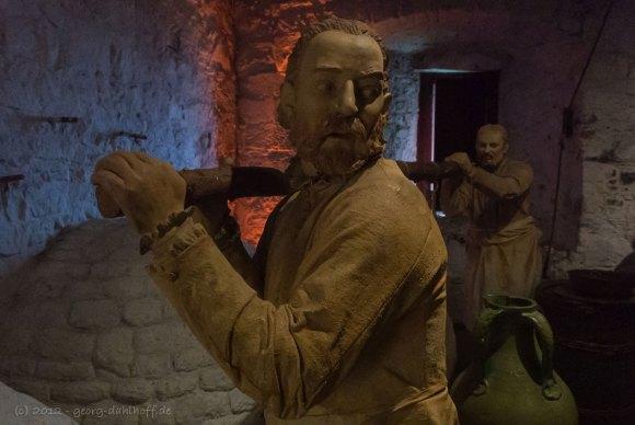 Stirling Castle: Mittelalterliche Küche – Bild Nr. 201206273932