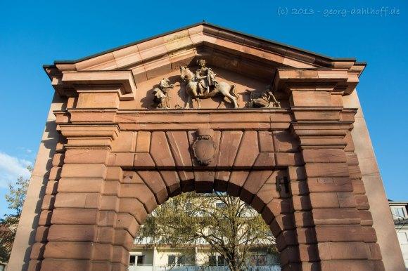 Das Gautor in Mainz - Bild Nr. 201301120008
