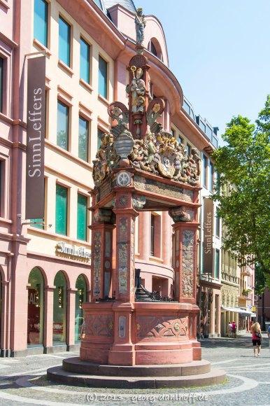 Der historische Marktbrunnen - Bild Nr. 201307071589