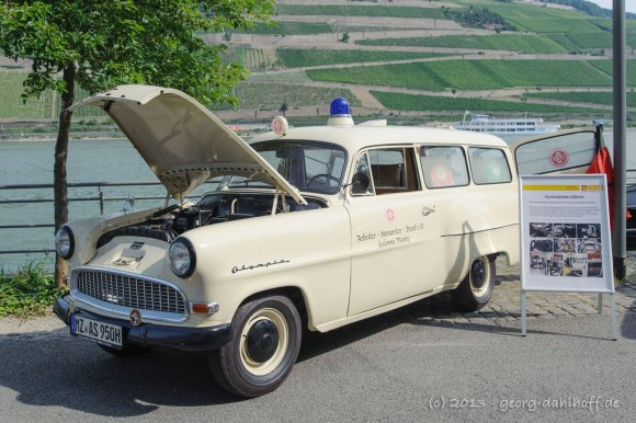 Opel Olympia Krankenwagen Bj. 1955 - Bild Nr. 201307140175