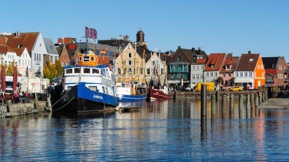 Der Hafen von Husum - Bild Nr. 201310181991