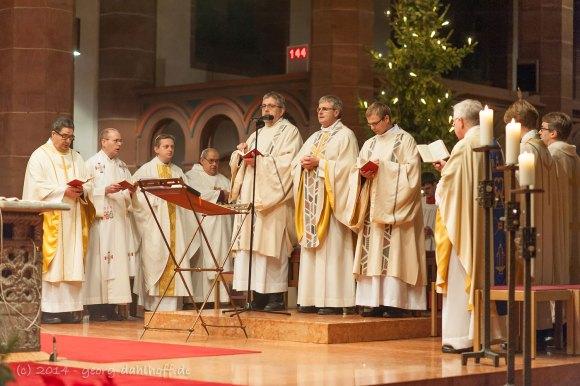 Festgottesdienst 12.01.2014 in St. Bonifatius Wiesbaden - Bild Nr. 201401121982
