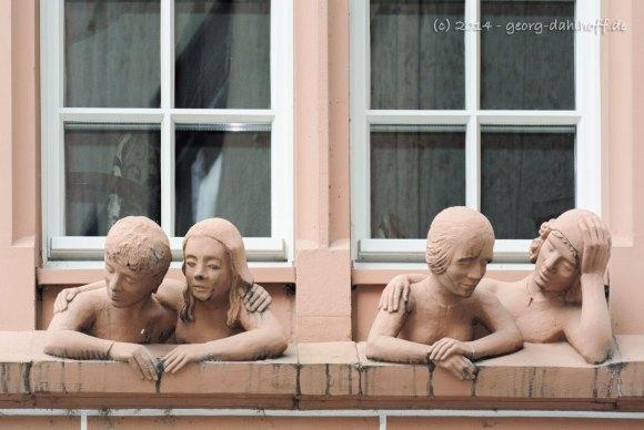 Fenstergucker der Mainzer Markthäuser - Bild Nr. 201404122810