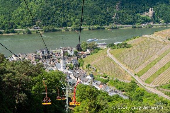Mit dem Sessellift vom Niederwald nach Assmannhausen - Bild Nr. 201405040332