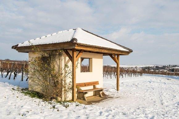 Weinbergshäuschen bei Mommenheim - Bild Nr. 201412291740