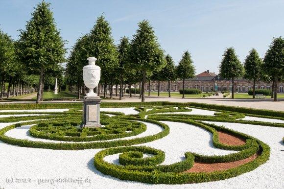 Gartenarchitektur nach französischem Vorbild - Bild Nr. 201406090672
