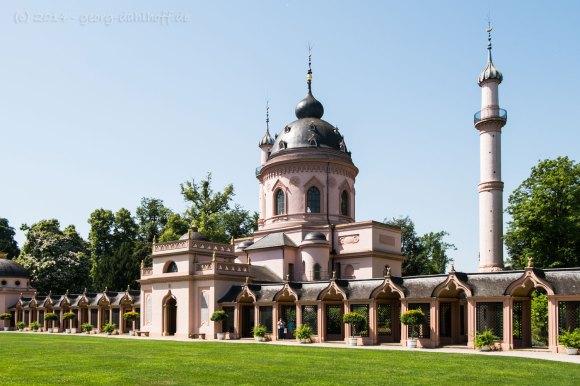Moschee und Moscheegarten - Bild Nr. 201406090714