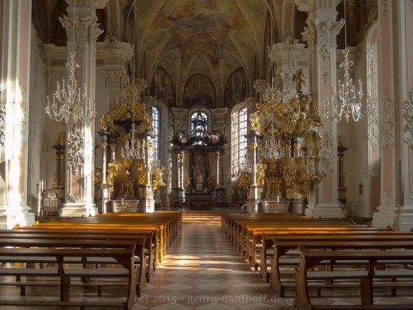 nnenansicht Pfarrkirche St. Peter, Mainz - Bild Nr. 201502281094
