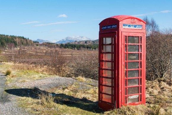 Telefonzelle in den Highlands - Bild Nr. 201503154446