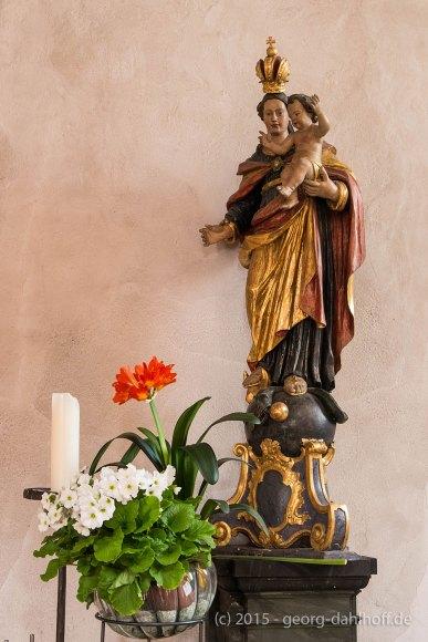 Basilika St. Lambert: Madonna - Bild Nr. 201504061935