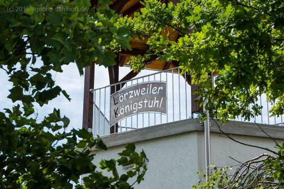 Weinbergsturm auf dem Lörzweiler Königsstuhl - Bild Nr. 201507122711