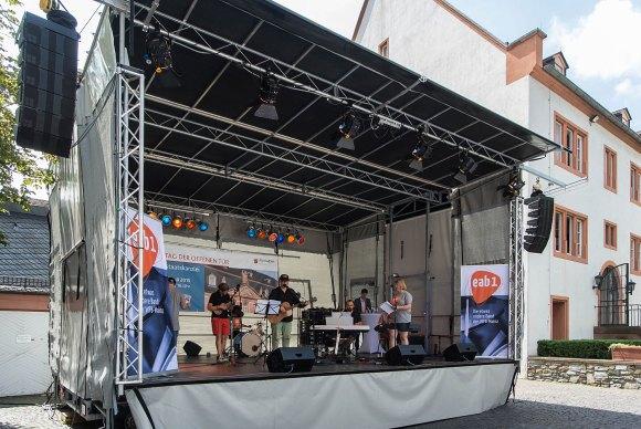 Die Band der 'Werkstätten für Behinderte' in Mainz - Bild Nr. 201507184679