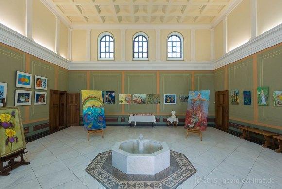 Villa Borg: Empfangssaal im Herrenhaus - Bild Nr. 201507194730