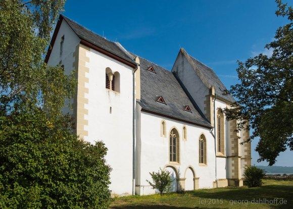 Die Bergkirche von Udenheim/Rheinhessen - Bild Nr. 201508292824