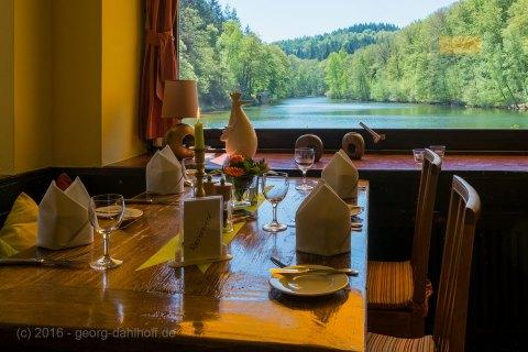 Restaurant Seehaus Forelle mit Blick auf den Einwog - Bild Nr. 201605084262