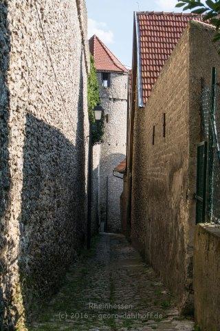 """An der """"Fleckenmauer"""" entlang - Bild Nr. 201608150670"""
