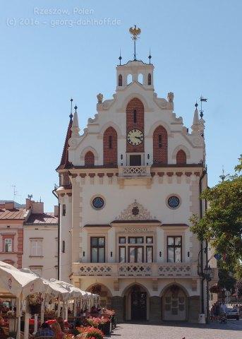 Rathaus von Rzeszów - Bild Nr. 201608281235
