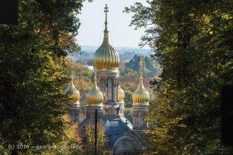 Russische Kirche auf dem Neroberg - Bild Nr. 201610300919