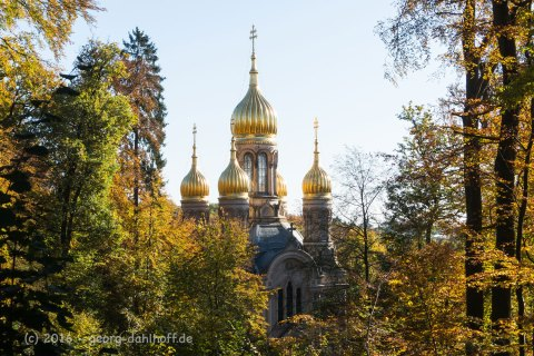 Die Russische Kirche auf dem Neroberg - Bild Nr. 201610300920