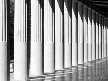 Die Säulen der Attalos-Stoá, Athen