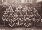 Officers of the 9th Battalion Oxfordshire and Buckinghamshire Light Infantry, April 1915.