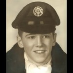 """US Air Force, 1957, George was discharged for being an """"unproductive airman"""""""