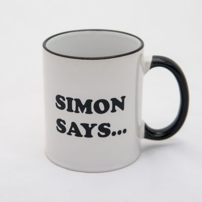 Simon Says Bistro Ceramic Mug