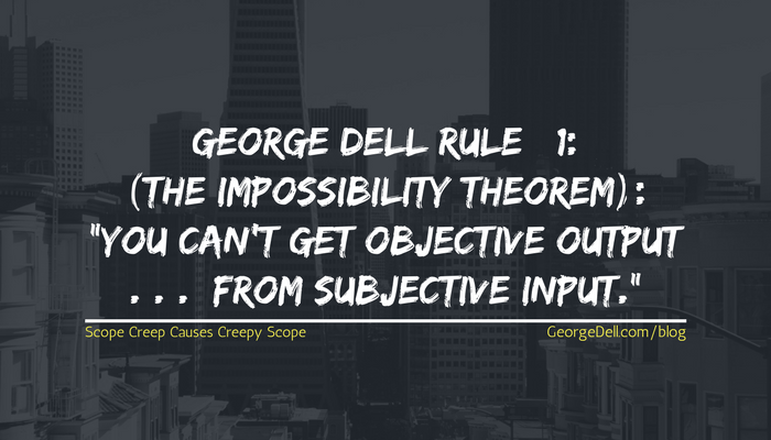 George Dell Rule #1