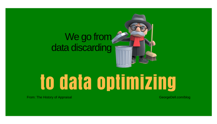 Trashman data discarding to data optimizing