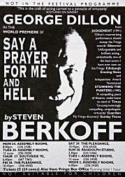 1992, Say a Prayer for Me Hell - Edinburgh