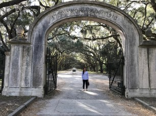 Entrance to Wormsloe
