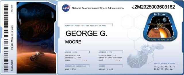 The Music of Mars InSight George G Moore