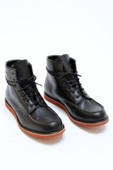 Worker Black boots