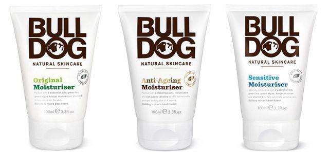 The Bulldog Natural Skincare moisturizer lineup: Original, Sensitive and Anti-Ageing Moisturizers