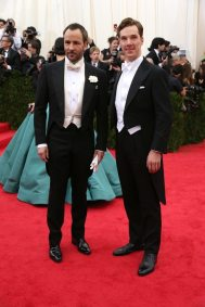 Tom Ford and Benedict Cumberbatch