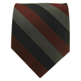 """The """"Draper Stripe"""" (black/gray/crimson)"""