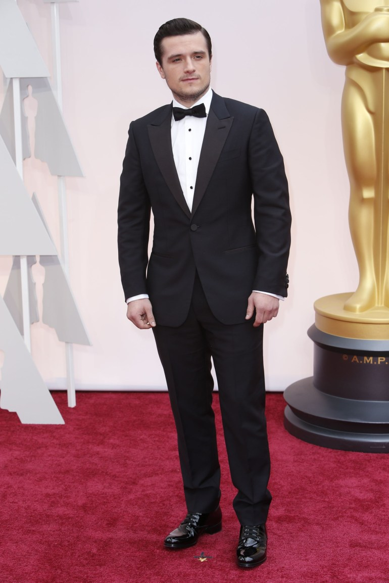 Josh Hutcherson in Ermenegildo Zegna couture