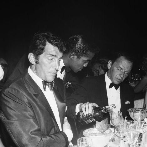 Dean Martin, Sammy Davis, Jr. and Frank Sinatra