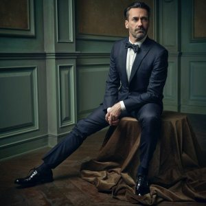 Jon Hamm, one of the rare ones who actually gets it. (Photographed by Mark Seliger for Vanity Fair)