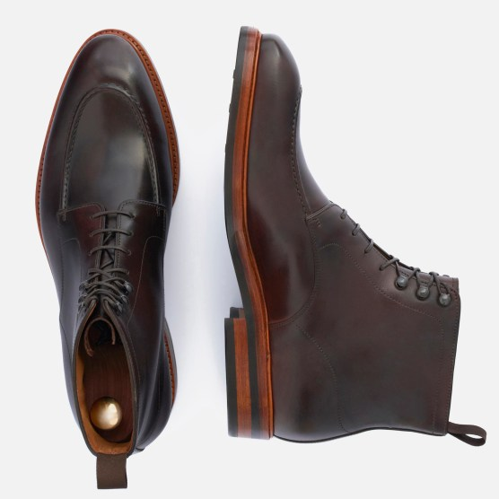 Gallagher Boot in brown Italian calfskin