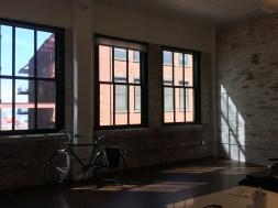 The windows.
