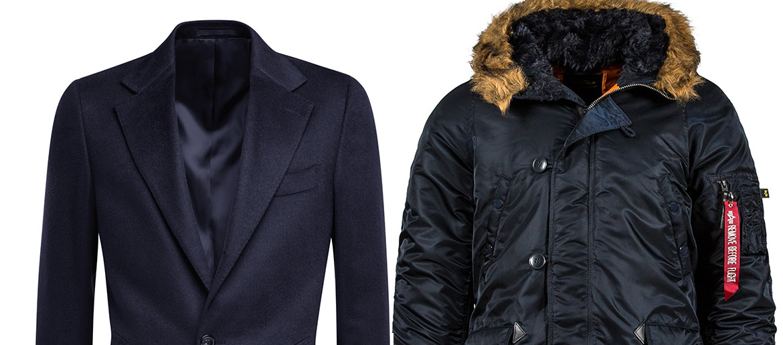 Real Men Wear Real Winter Coats