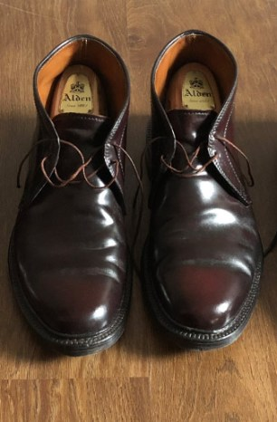 When It Comes to Brown Shoes, I Go Dark