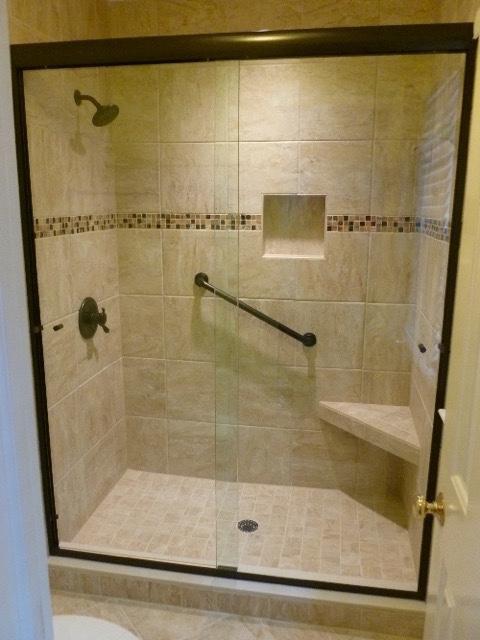 Semi Frameless Sliding Shower Door Richmond Virginia George