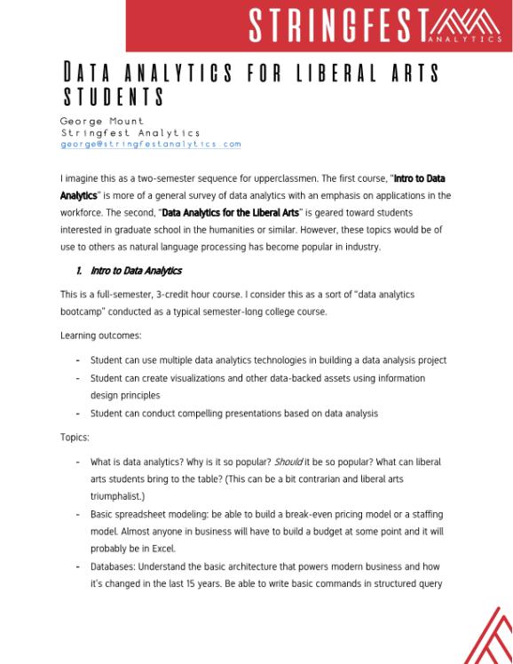 Data analytics for liberal arts PDF