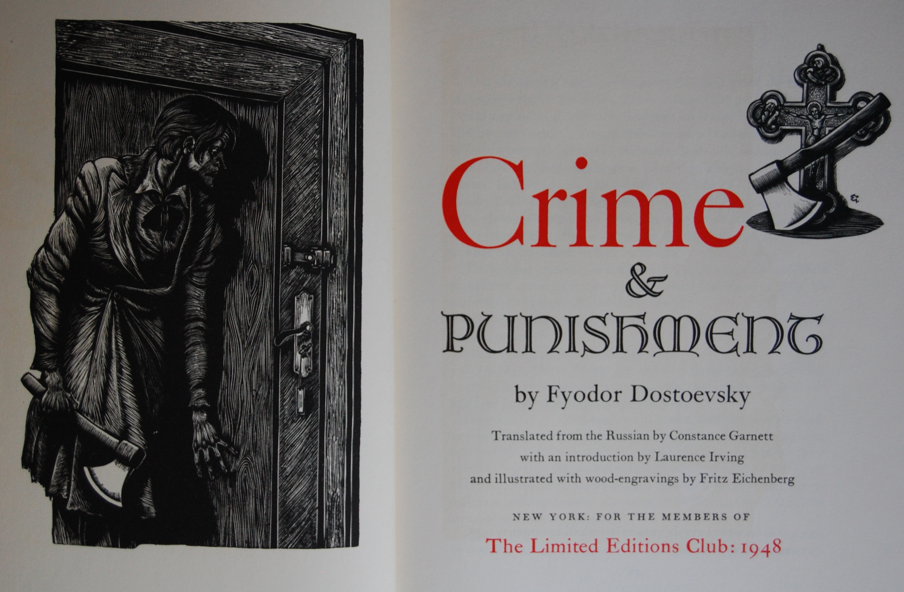Crime And Punishment The George Macy Imagery
