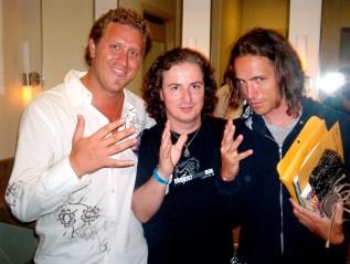 Robert Boyd, George Quirin & Brandon-Boyd (Incubus).