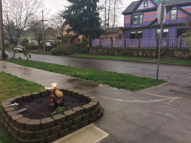 Homes of all colors and styles are found in the inviting Sellwood neighborhood of Southeast Portland.