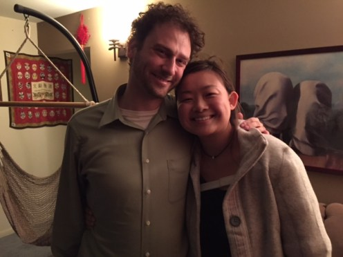 My airbnb hosts in Pittsburgh. Gil hails from Los Angeles and Cecilia from Northwest Indiana. A sweet couple.