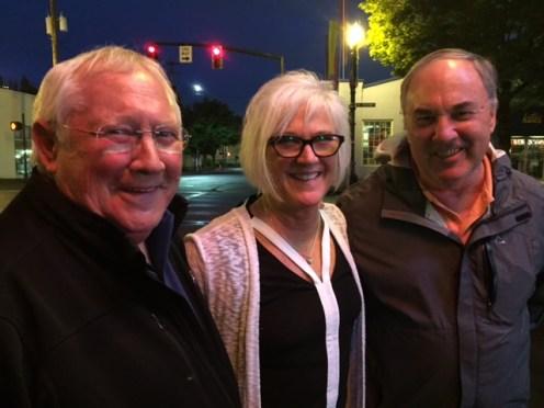 The Rauh siblings: Bob, Lori and Jim.